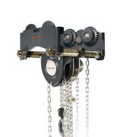 KM2 Hand Chain Block with special low headroom trolley