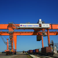 Konecranes rail mounted gantry crane